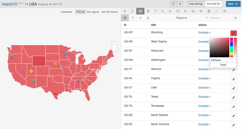 MapSVG WordPress map plugin | Vector, Google, Image maps ...