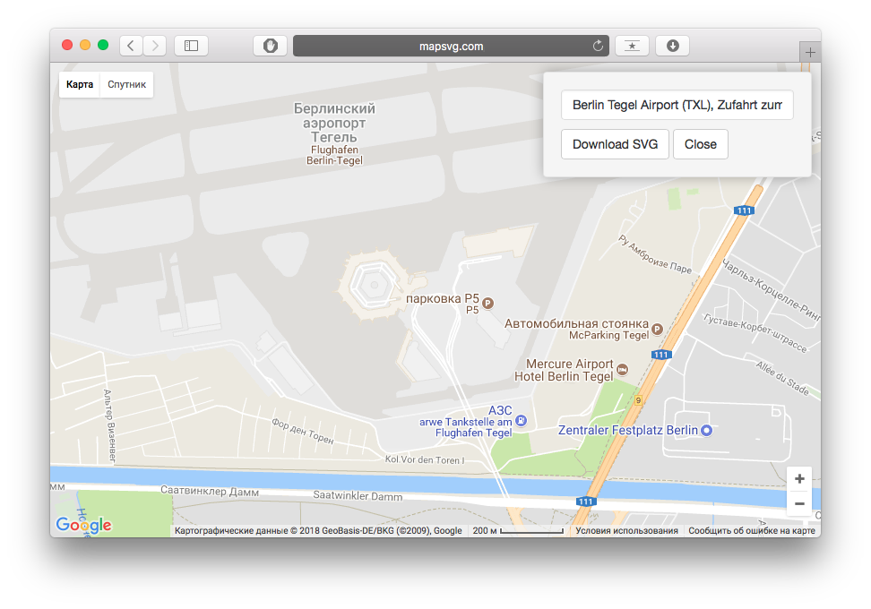 Google Maps with custom SVG overlay | Tutorials | MapSVG WordPress on
